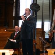 St. Joseph's Day at Providence City Hall
