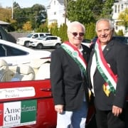 Columbus Day Parade on Federal Hill