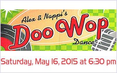 Alex & Nappi's Doo Wop Dance
