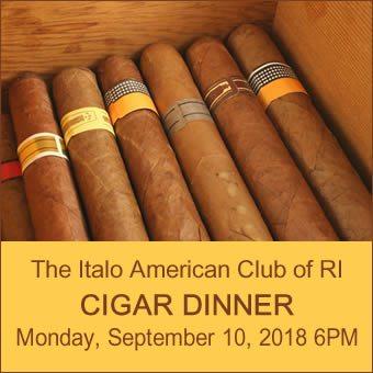 Cigar Dinner 9-10-2018